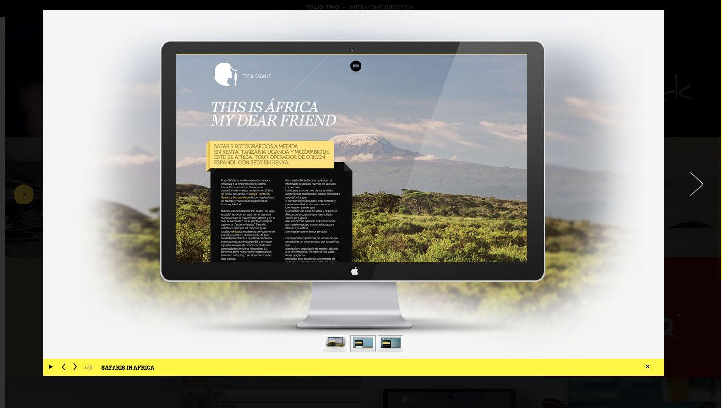Folio Two - Portfolio for Creative Professionals