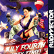 July Fourth Party Time Flyer