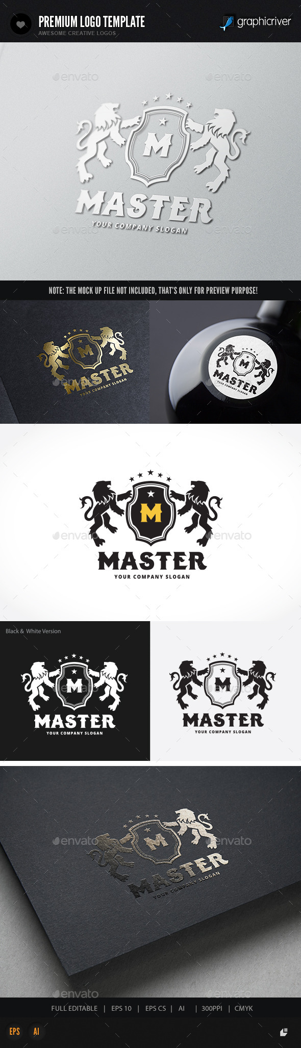 GraphicRiver Lion Master 11937285