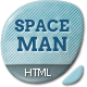 Spaceman - Parallax Design Studio Template