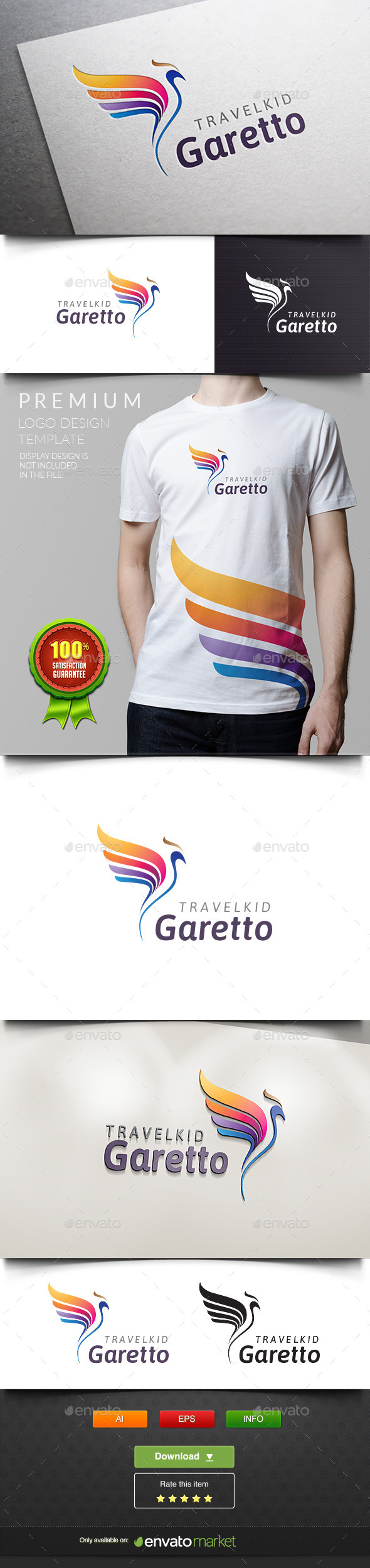 GraphicRiver Garetto Parrot Bird 11937832