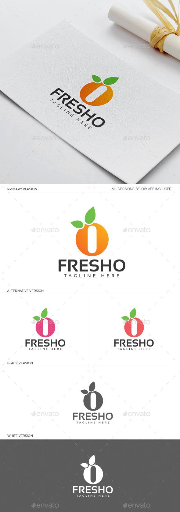 GraphicRiver Fresho Logo 11937860