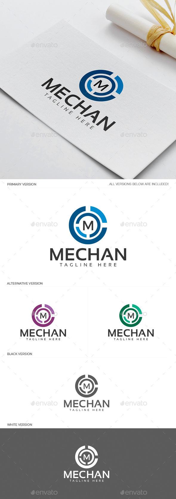 GraphicRiver Mechan Logo 11937879