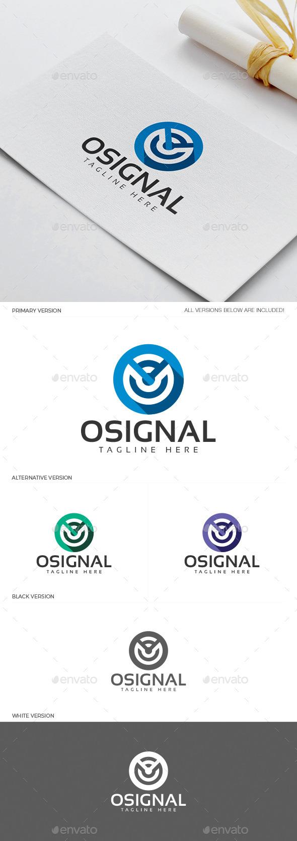GraphicRiver Osignal Logo 11937899
