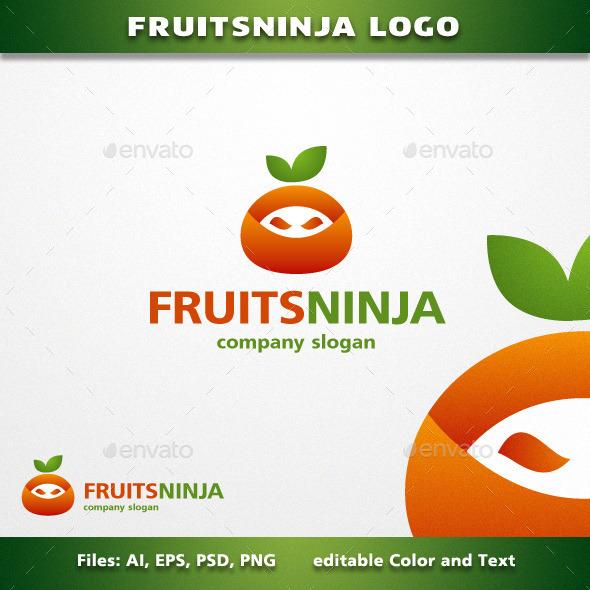 GraphicRiver FruitsNinja Logo 11932679