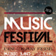 Music Festival Poster + Flyer - GraphicRiver Item for Sale