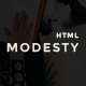 Modesty - MultiPurpose One Page Template - ThemeForest Item for Sale