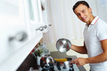 Man cooking spaghetti - PhotoDune Item for Sale