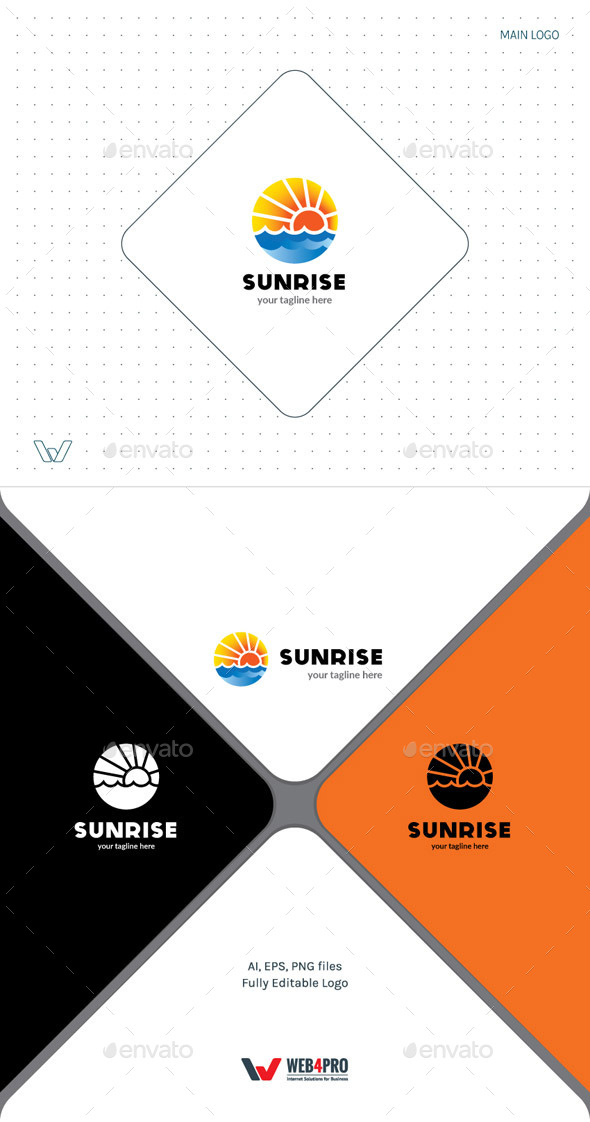 GraphicRiver Sunrise Logo 11938169
