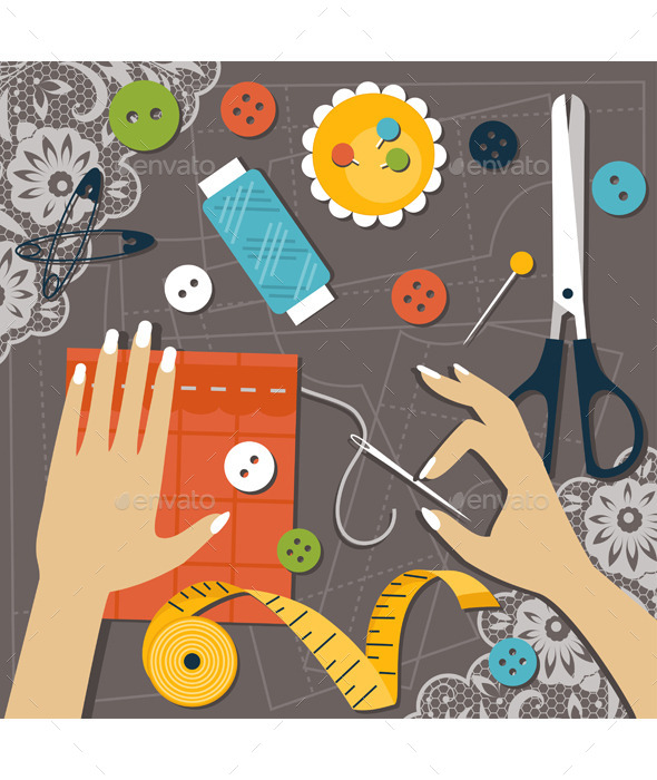 GraphicRiver Sewing 11938260