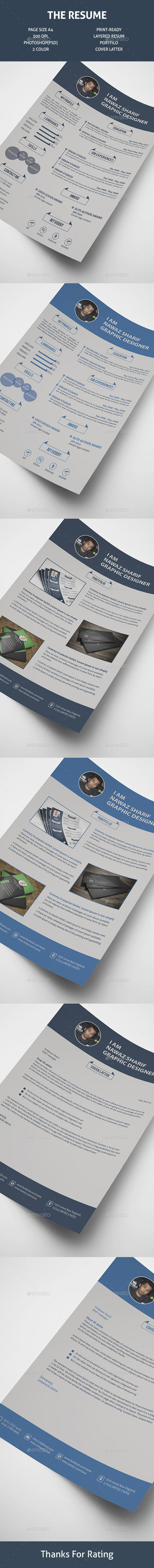 GraphicRiver Resume V2 11936168