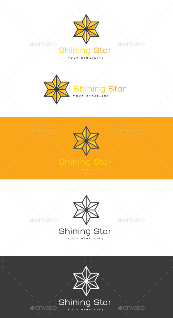 GraphicRiver Shining Star Logo 11938299