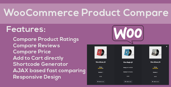 CodeCanyon WooCommerce Responsive Products Compare 11938375