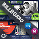 Multipurpose Billboard Templates - GraphicRiver Item for Sale
