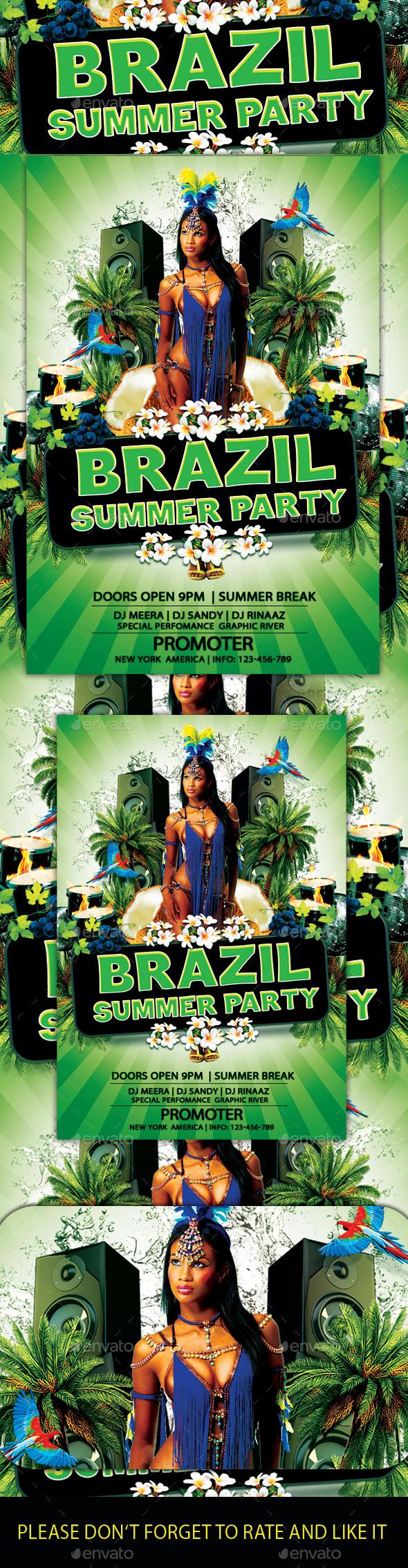 Brazil Summer Flyer