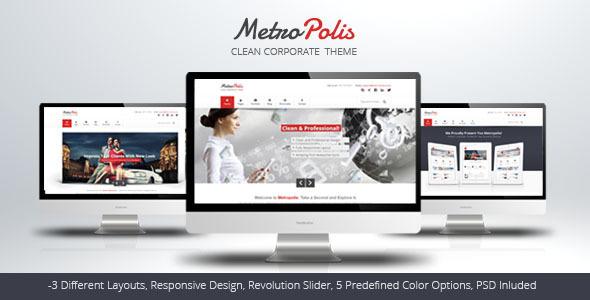 Metropolis - Clean Multipurpose Theme - Creative Site Templates