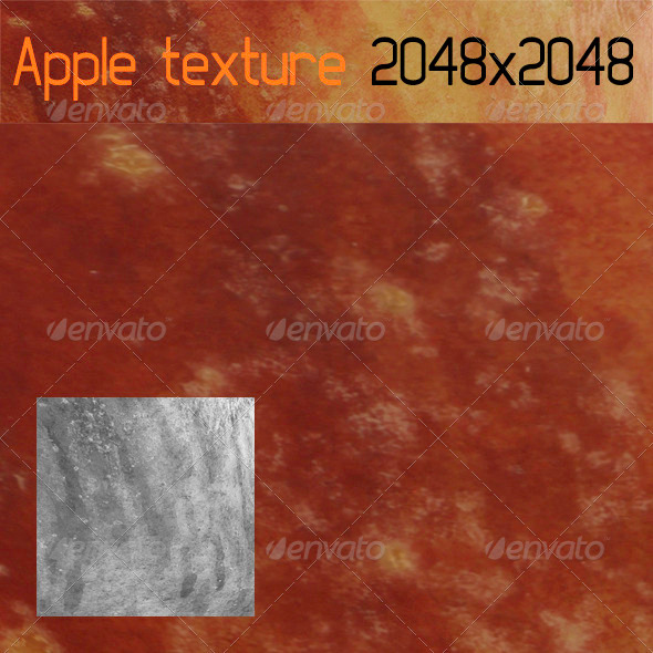Apple Texture - 3DOcean Item for Sale