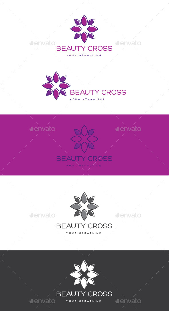 GraphicRiver Beauty Cross Logo 11939854