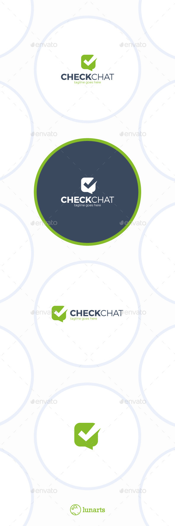 GraphicRiver Check Chat Logo Choice 11939935