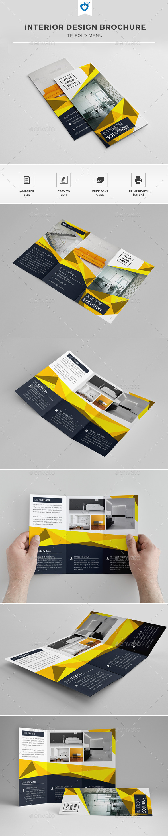 GraphicRiver Interior Design Brochure 11940053