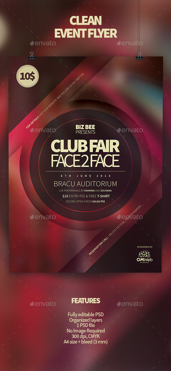 GraphicRiver Multipurpose Event Flyer 11940118