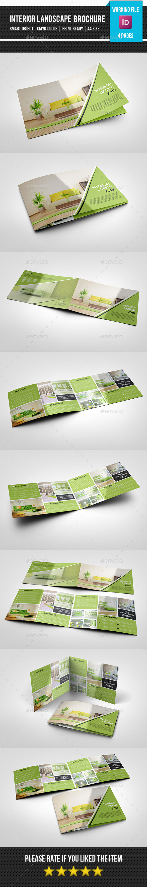 GraphicRiver Bifold Interior Design Studio Brochure-V269 11940557