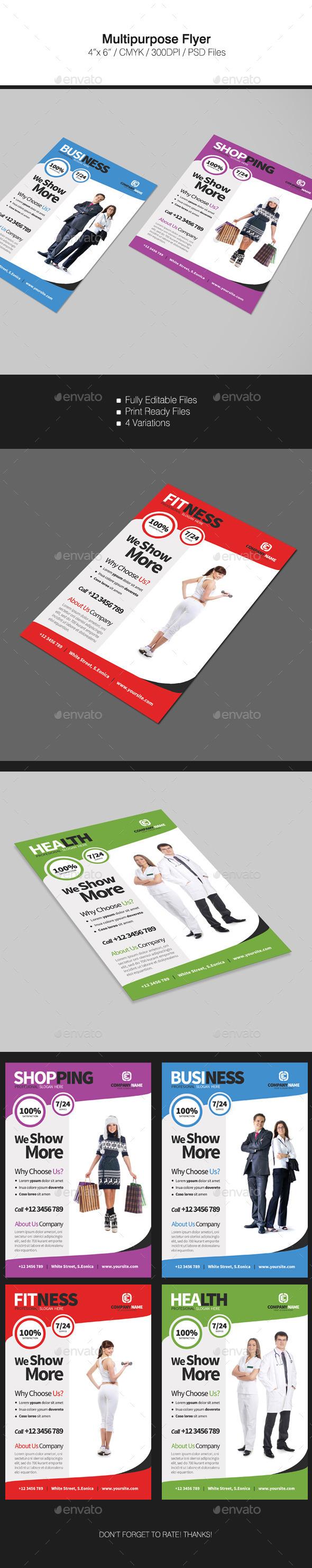 GraphicRiver Multipurpose Flyer 11940565