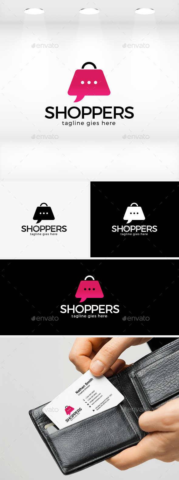 GraphicRiver Shoppers Logo 11940865