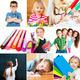 children and school supplies - PhotoDune Item for Sale