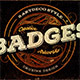 8 Artdeco Style Badges - GraphicRiver Item for Sale