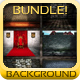 medieval backgrounds bundle