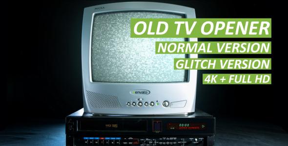 Old TV Opener