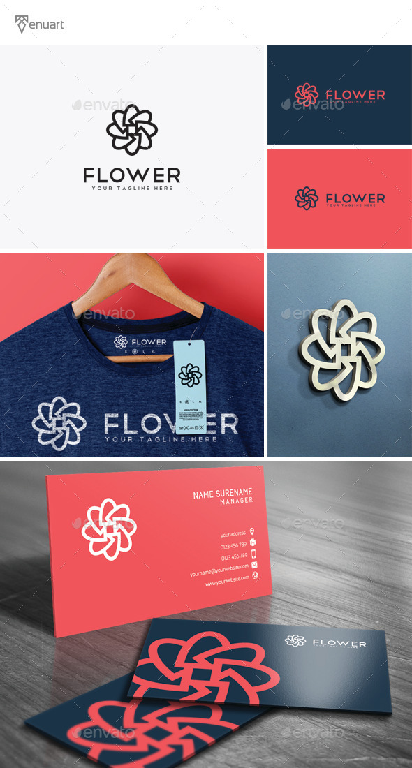 GraphicRiver Flower Logo 11941544