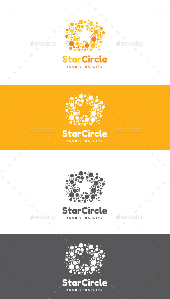 GraphicRiver Star Circle Logo 11941548