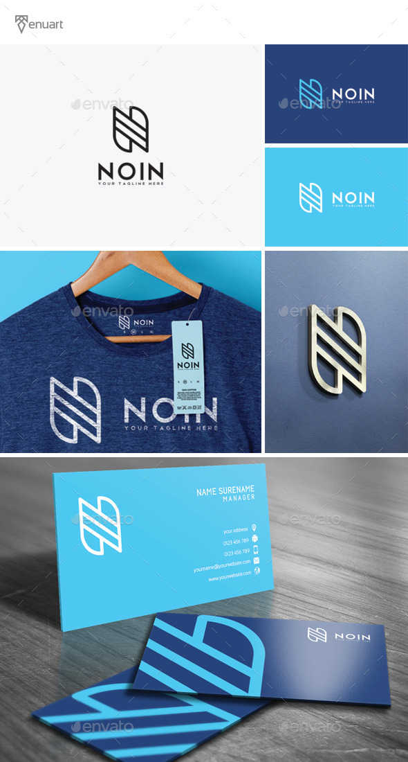 GraphicRiver Noin Logo 11941716