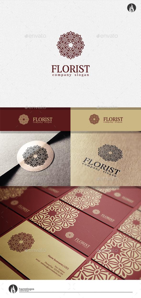 GraphicRiver Florist Logo 11941740