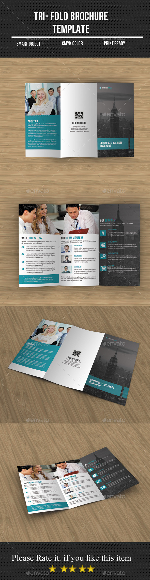 GraphicRiver Tri- Fold Business Brochure 11942468