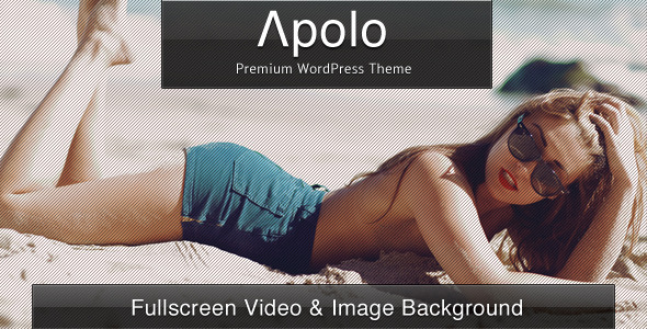 Apolo - Fullscreen Video & Image Background +Audio - Photography Creative