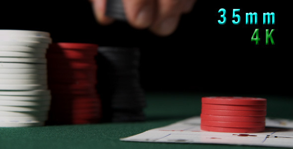 Betting With Poker Chips 05