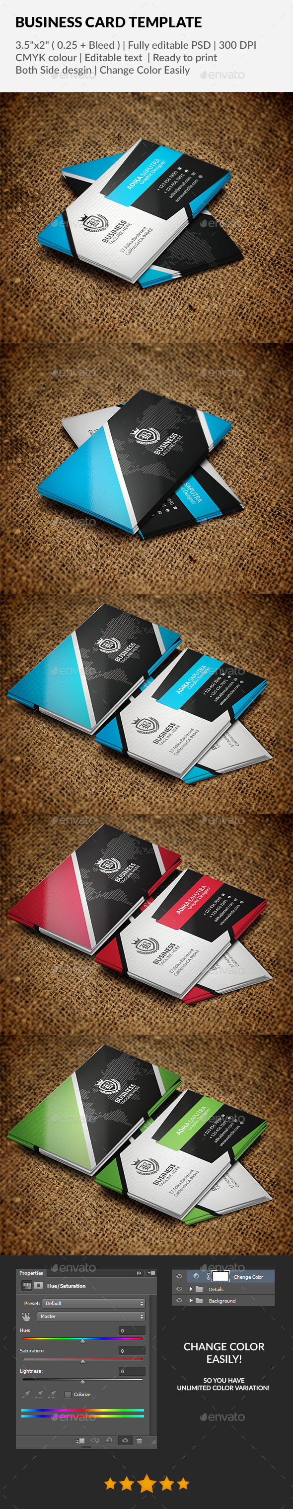 GraphicRiver Business Card Template 11942534
