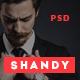 Shandy - Agency & Portfolio PSD Template - ThemeForest Item for Sale