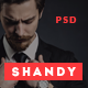Shandy - Agency & Portfolio PSD Template - ThemeForest Item for Sale
