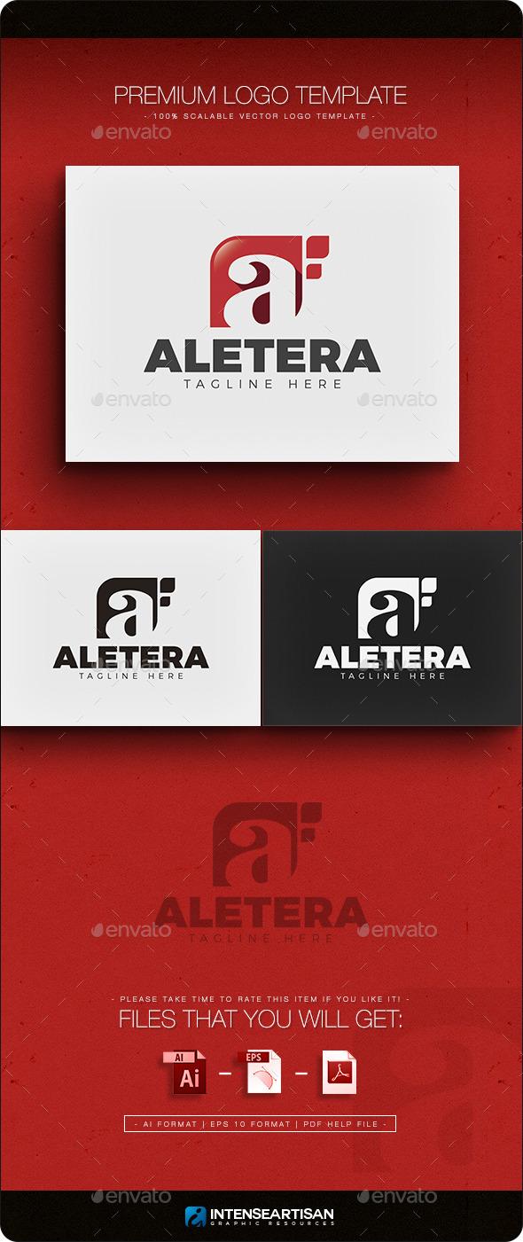 GraphicRiver Aletera Letter A Logo 11942852