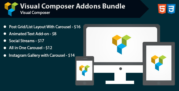 CodeCanyon Visual Composer Addons Bundle 11943219