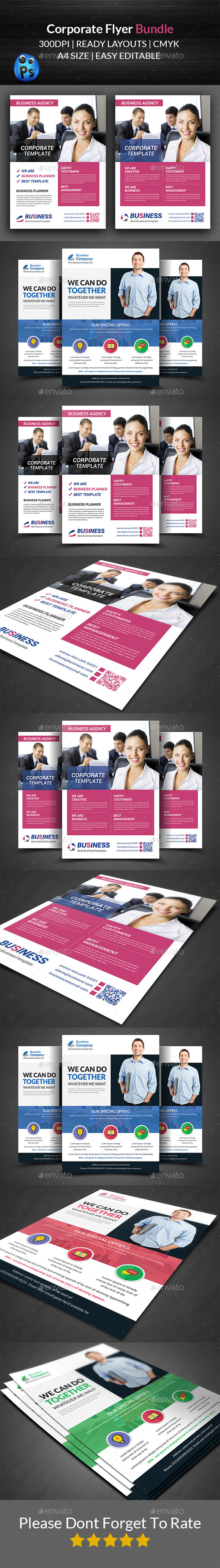 GraphicRiver Business Flyer Template Bundle 11943237
