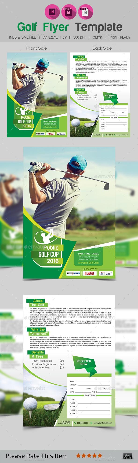 GraphicRiver Golf Flyer Template V2 11943569