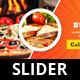 Food Hut Slider - GraphicRiver Item for Sale
