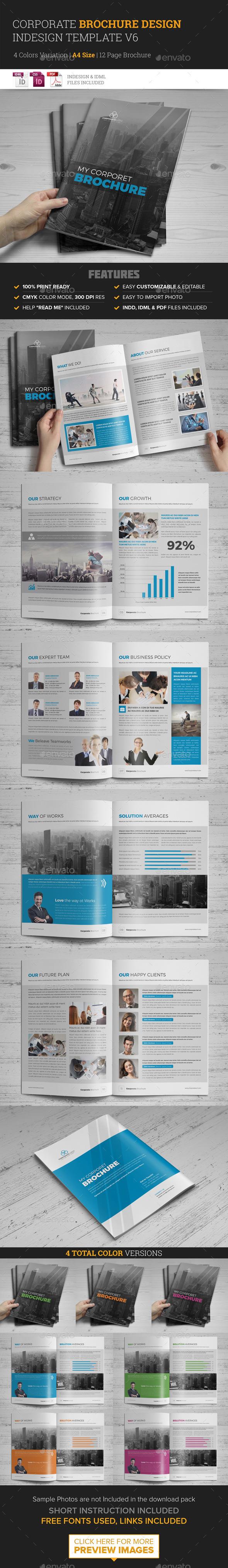 GraphicRiver Corporate Multipurpose Brochure Template v6 11943795