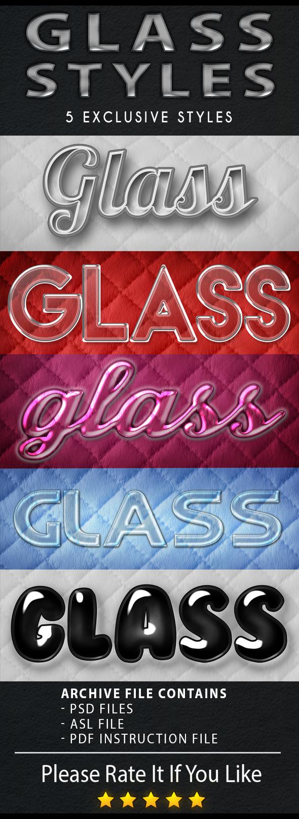 GraphicRiver Glass style 11921208