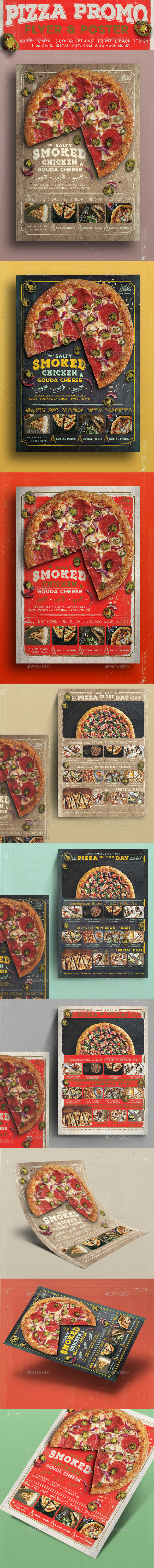 GraphicRiver Pizza Promo Flyer 11944515